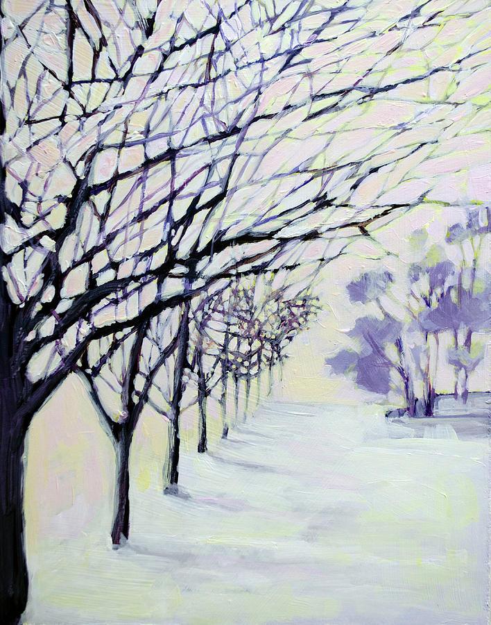 White Winter Wonderland - First snowfall by Patricia Awapara