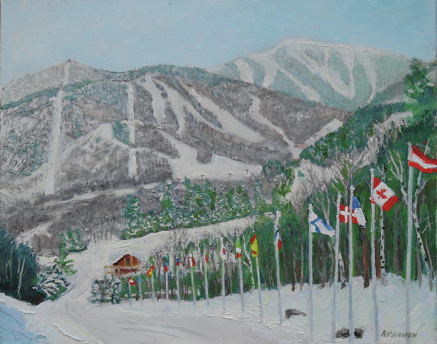 Whiteface  Mt  Ski Area by Robert P Hedden