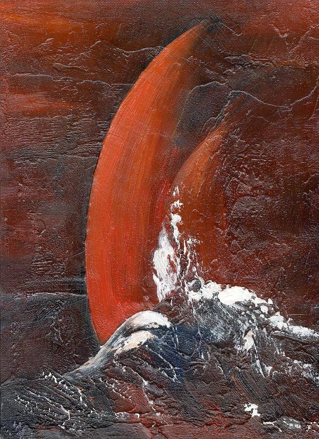 WhiteSplash on red sails by Val Byrne