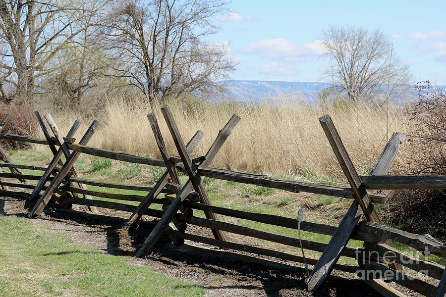 Whitman Mission Fence Photograph