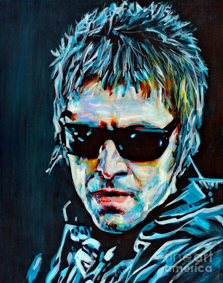 Why Me Why Not. Liam Gallagher by Tanya Filichkin