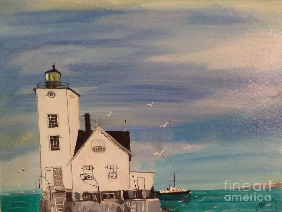 Wickford Lighthouse by Donald Northup