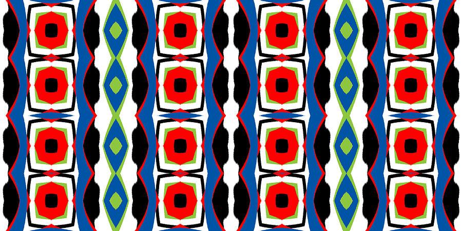 Wide Abstract #2 Digital Art
