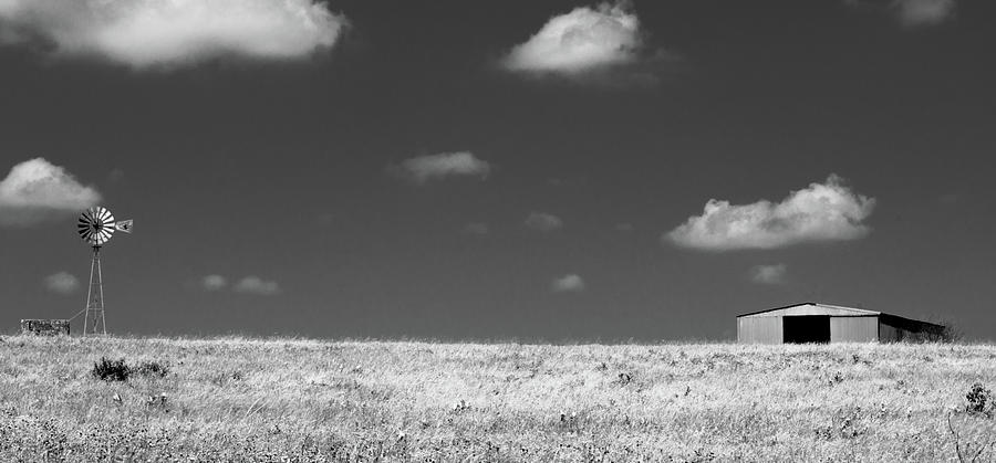 Smoke Photograph - Wide Open Spaces by Peyton Vaughn