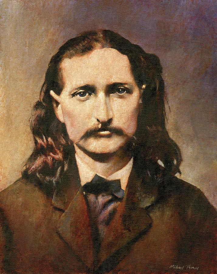 Wild Bill Hikock Painting