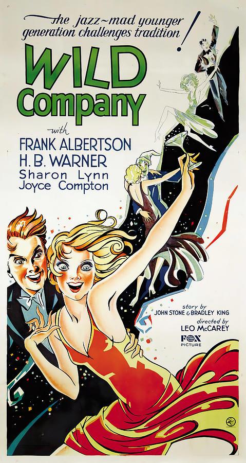 wild Company, 1930 Mixed Media