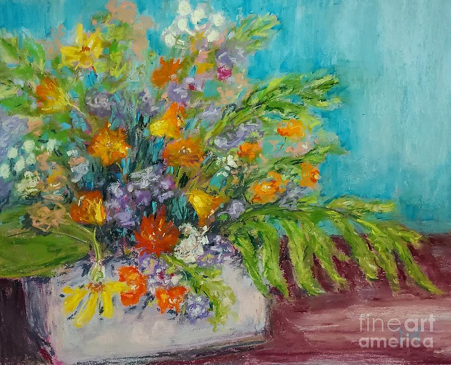 Wild flower bouquet  by Maria Langgle