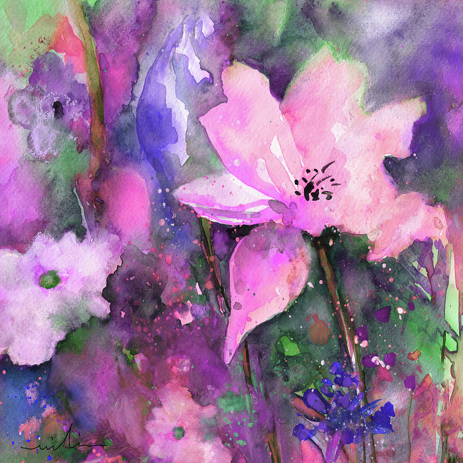 Wild Flowers 17 by Miki De Goodaboom