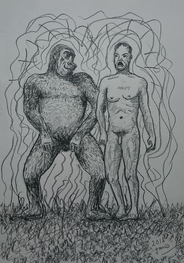 Wild Friends Drawing