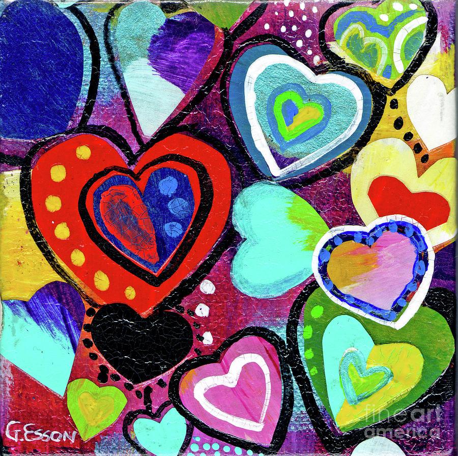 Wild Hearts Collide Mixed Media