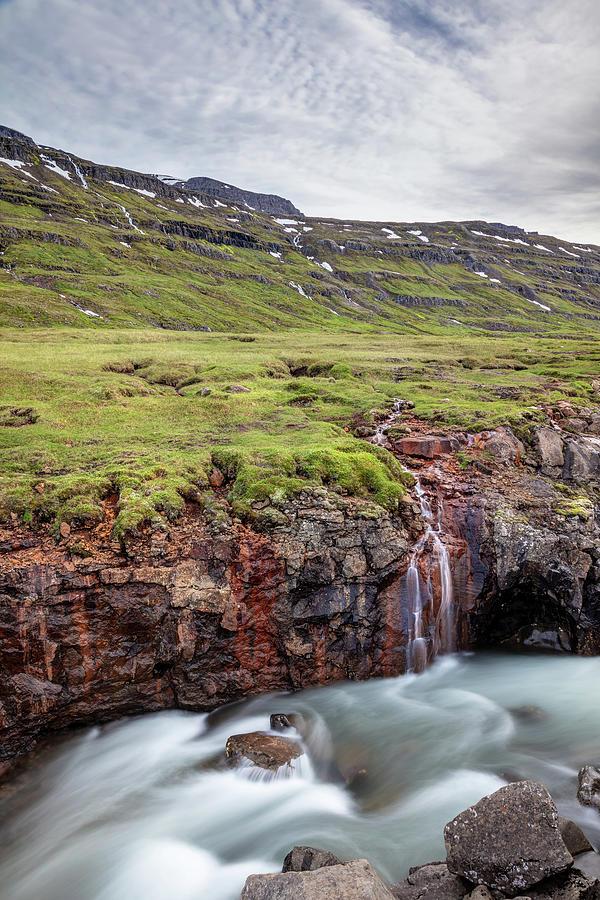 Wild Landscape Of Iceland Photograph