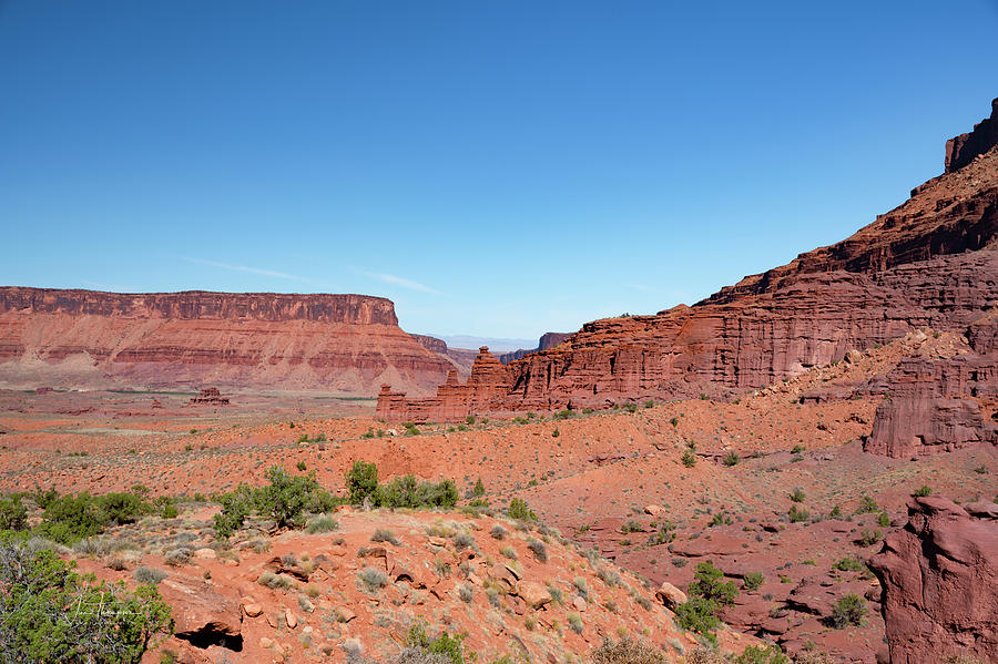 Fisher Towers Photograph - Wild Utah Landscape by Jim Thompson