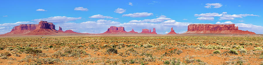 Monument Valley Photograph - Wild West by Az Jackson