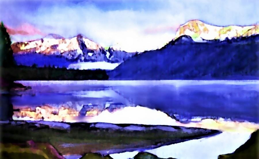 Wilderness Inter Peace Painting by Joseph Barani