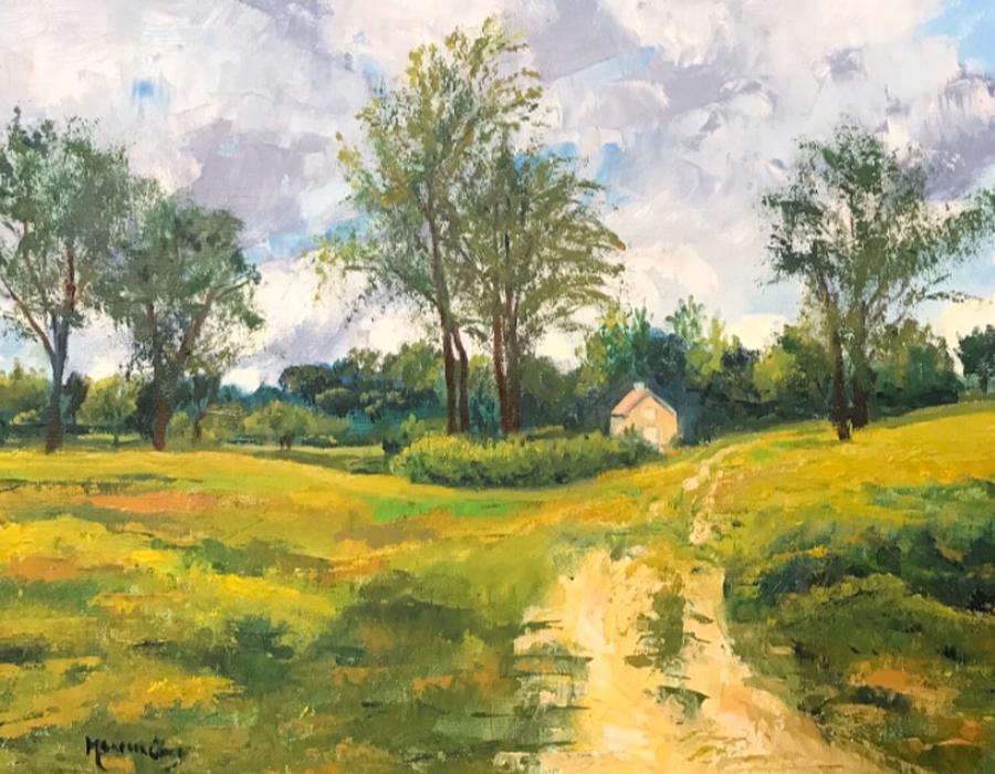 Wildflower Meadow Hale by Maureen Obey