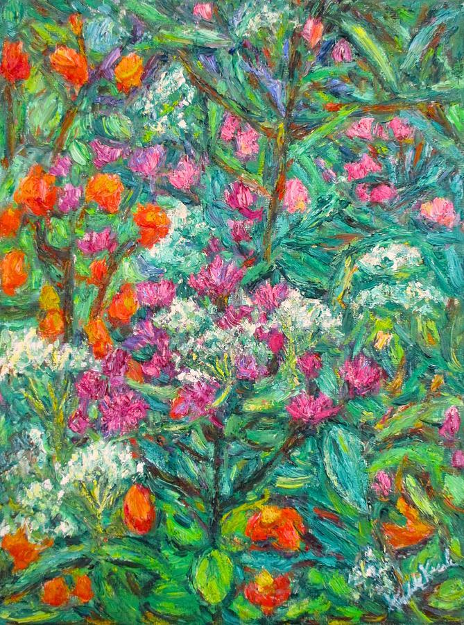 Wildflowers Painting - Wildwood Beauty by Kendall Kessler