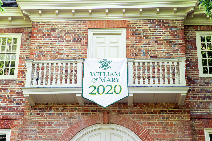 William And Mary 2020 Banner Photograph