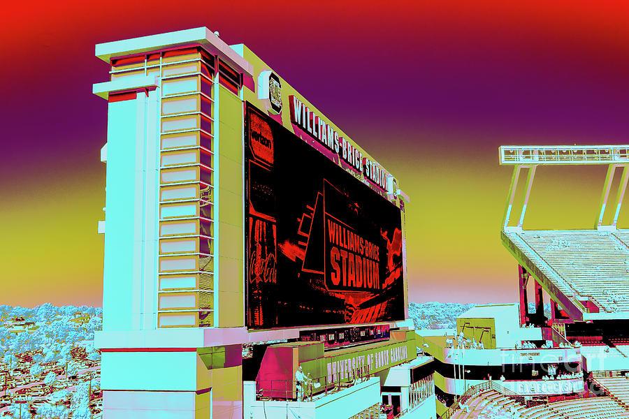 Williams - Brice Stadium #24 by Charles Hite