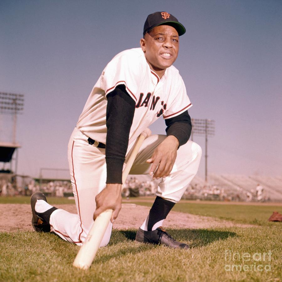 Willie Mays Photograph by Kidwiler Collection
