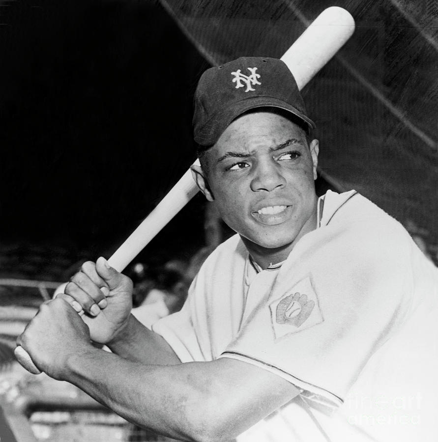 Willie Mays Photograph by National Baseball Hall Of Fame Library