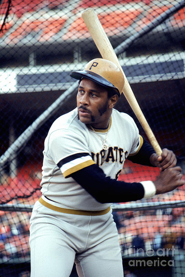 Willie Stargell Photograph by Michael Zagaris