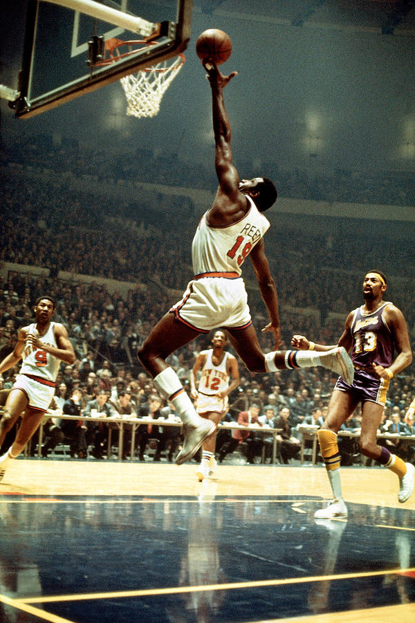 Willis Reed Photograph by Wen Roberts