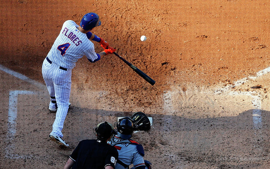 Wilmer Flores Photograph by Jim Mcisaac
