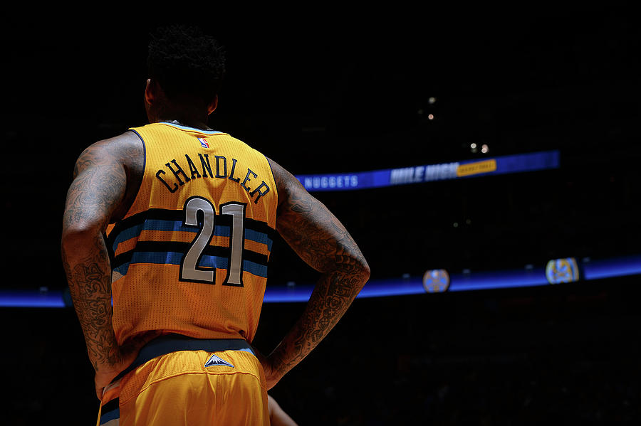 Wilson Chandler Photograph by Bart Young