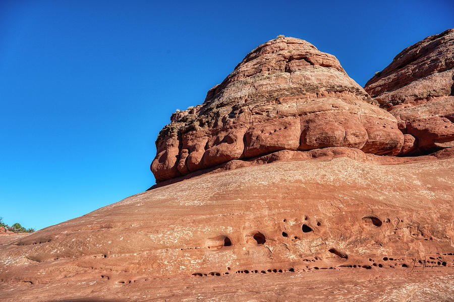 Arches National Park Photograph - Wind and Water Erosion by Jim Thompson