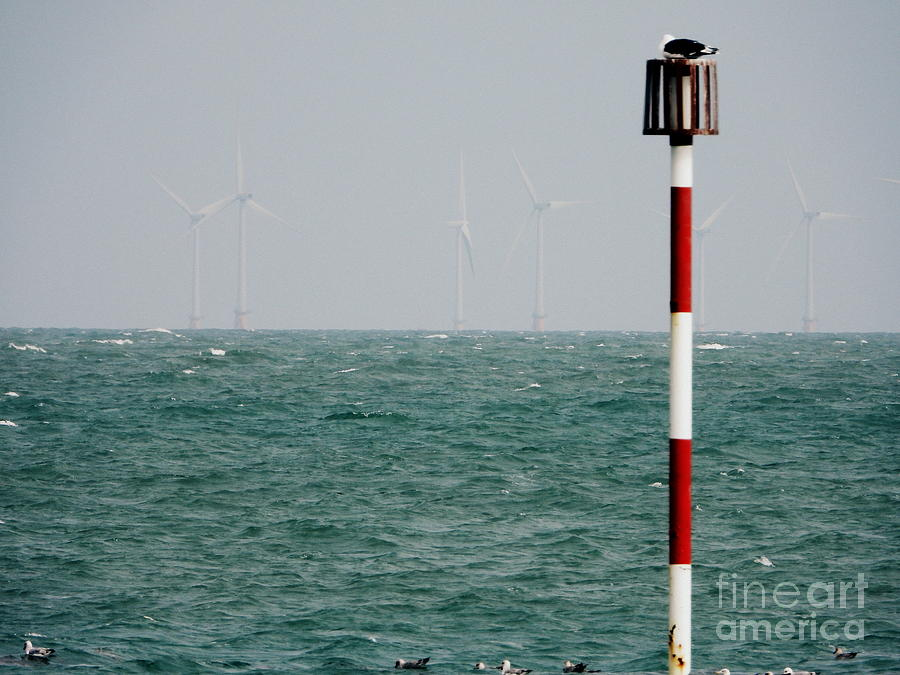 Wind Photograph - Wind Farm by Andy Thompson