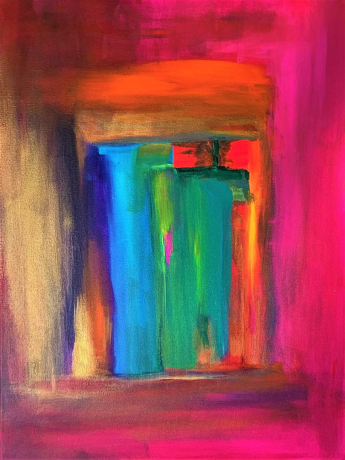 Window Of Hope Painting