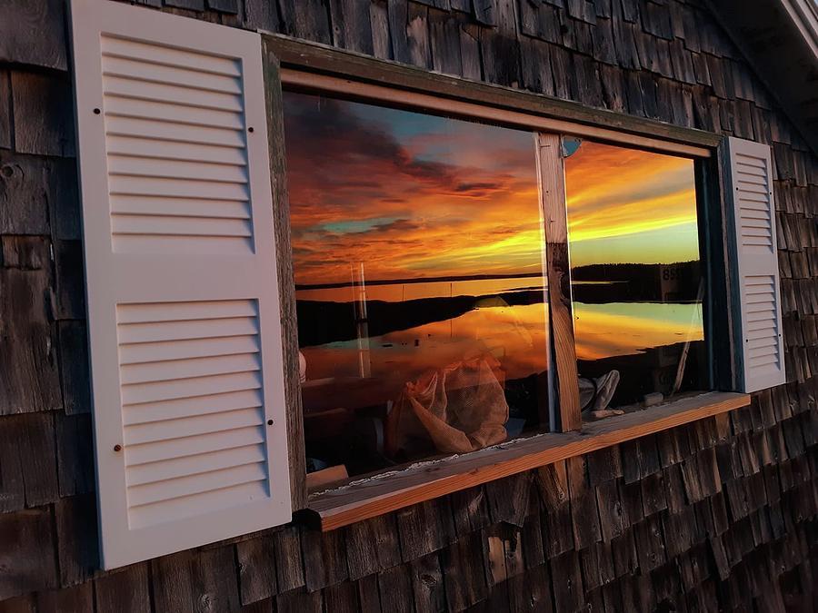 Window Sunrise Photograph