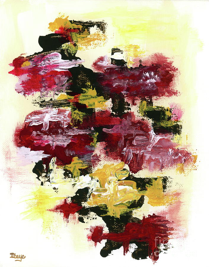 Abstract Expressionist Painting - Winds of Change 2 Abstract Expressionist Painting by Itaya Lightbourne