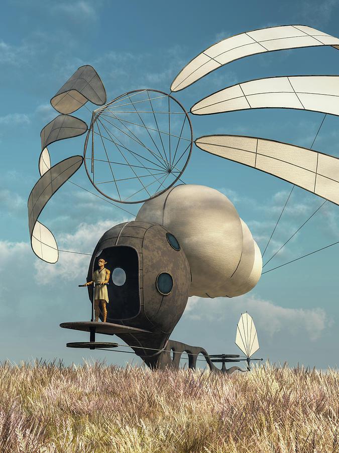 Windskimmer Digital Art