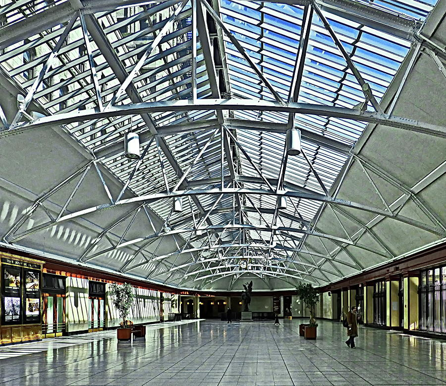 Windsor Station in Montreal, Quebec, Canada by Lyuba Filatova
