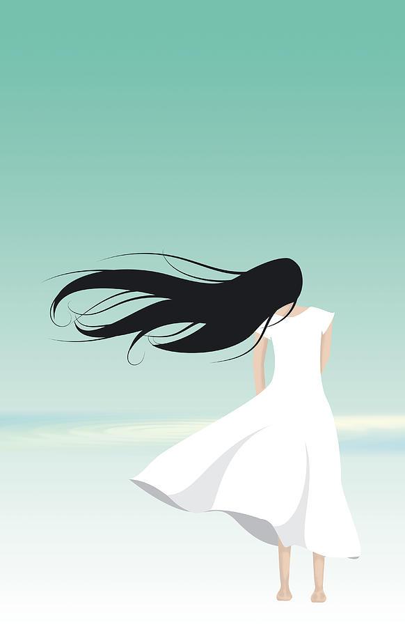 Vector Digital Art - Windy by Oscar Vago