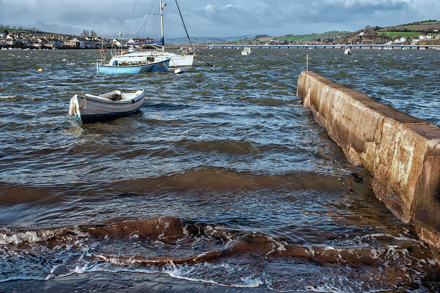 River Photograph - Windy River by A J Paul