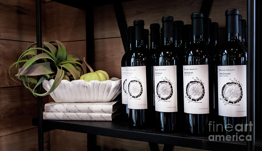 Wine Bottles by Joseph Miko