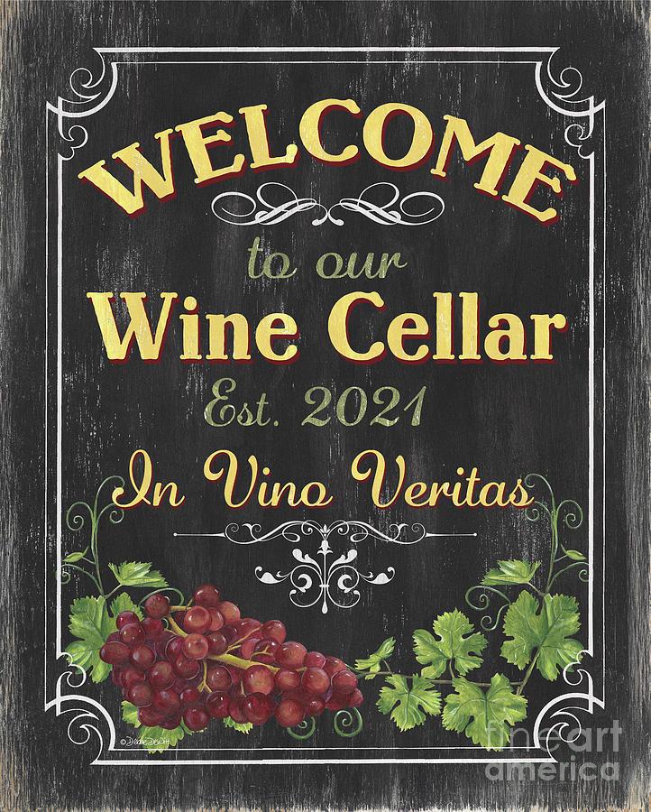 Wine Cellar 2021 Painting