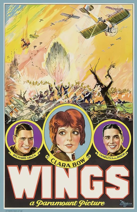 wings, 1927 Mixed Media