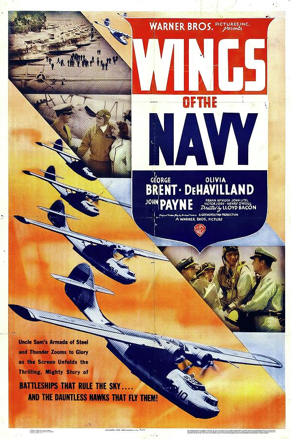 wings Of The Navy, With George Brent, 1939 Mixed Media