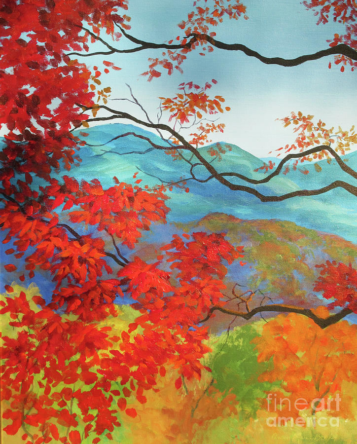 Winsome Fall View by Anne Marie Brown