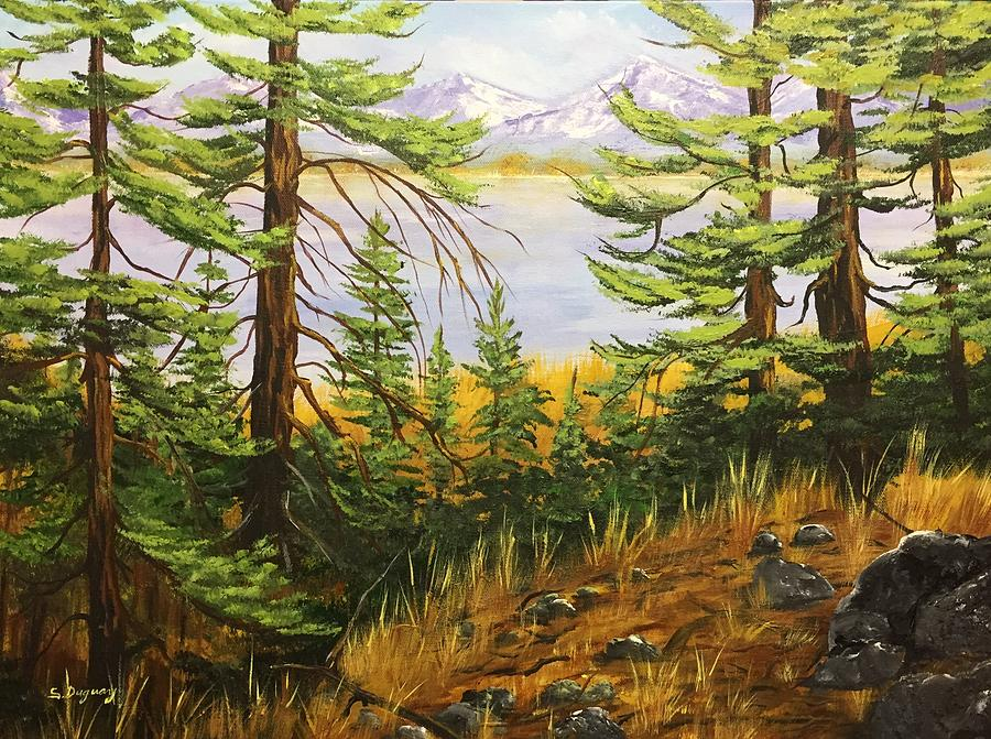 Winter Approaches by Sharon Duguay