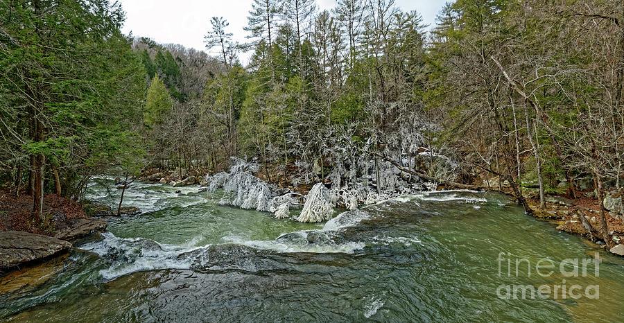 Winter At The Falls Photograph