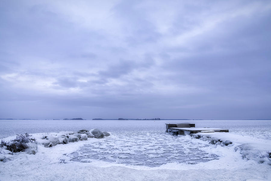 Winter Bay Photograph