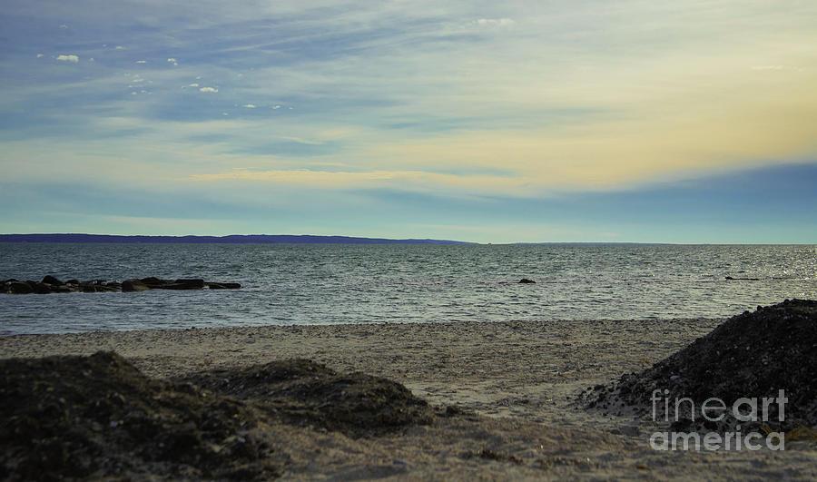 Nature Photograph - Winter Beachscape by Sharon Mayhak