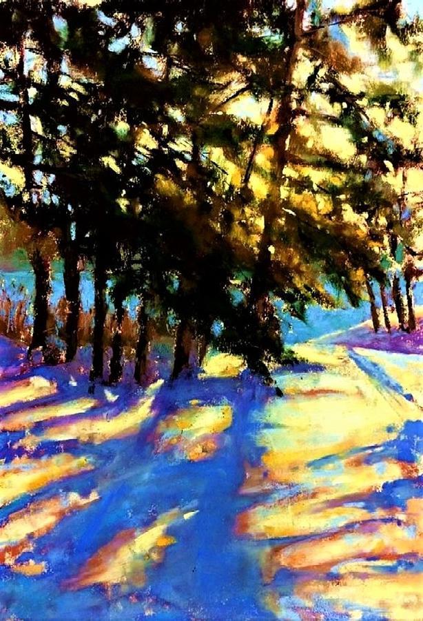 Winter Break Painting by Joseph Barani