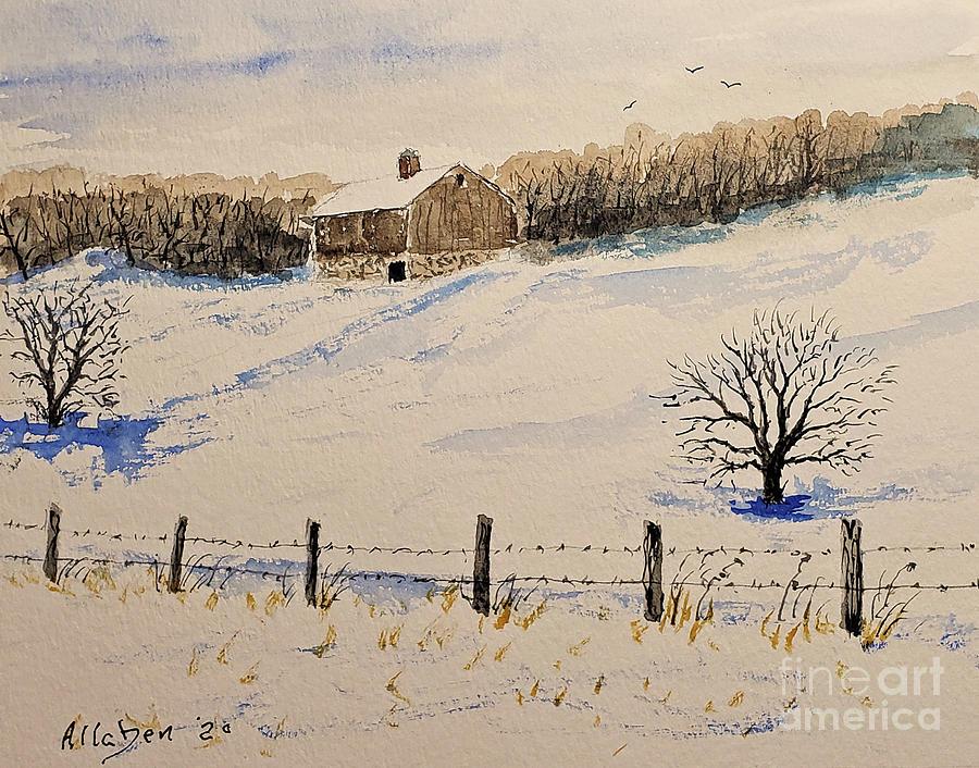 Winter Calm by Stanton Allaben