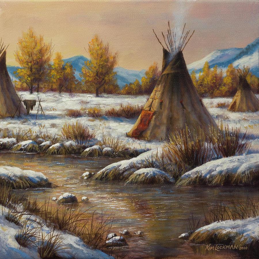Winter Camp by Kim Lockman