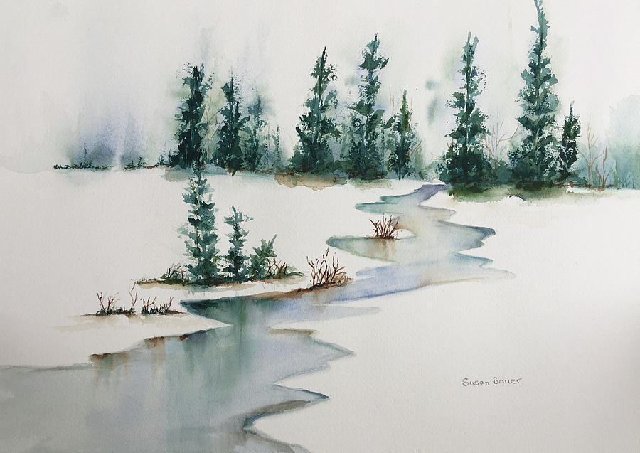 Winter Hush by Susan Bauer
